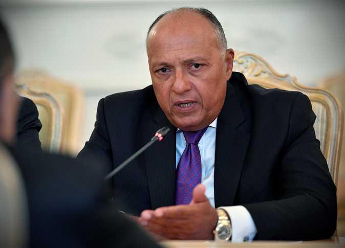 سامح شكري الأتفاق بين طرابلس وتركيا لايمس مصالح مصر ولكنه يعقد الوضع
