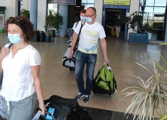 لأول مرة منذ بداية جائحة كرونا مطار مرسى علم يستقبل أول رحلة طيران قادمة من فرنسا