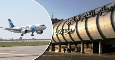 أعلى معدل يومي للرحلات الدولية والداخلية اليوم في مطار القاهرة