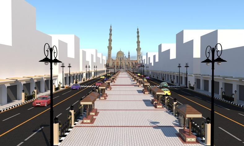 تطوير ميدان المحطة ومحيط مسجد السيد البدوي