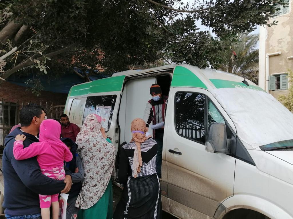 صحة دمياط تُنفذ قافلة طبية شاملة بقرية الكاشف الجديد