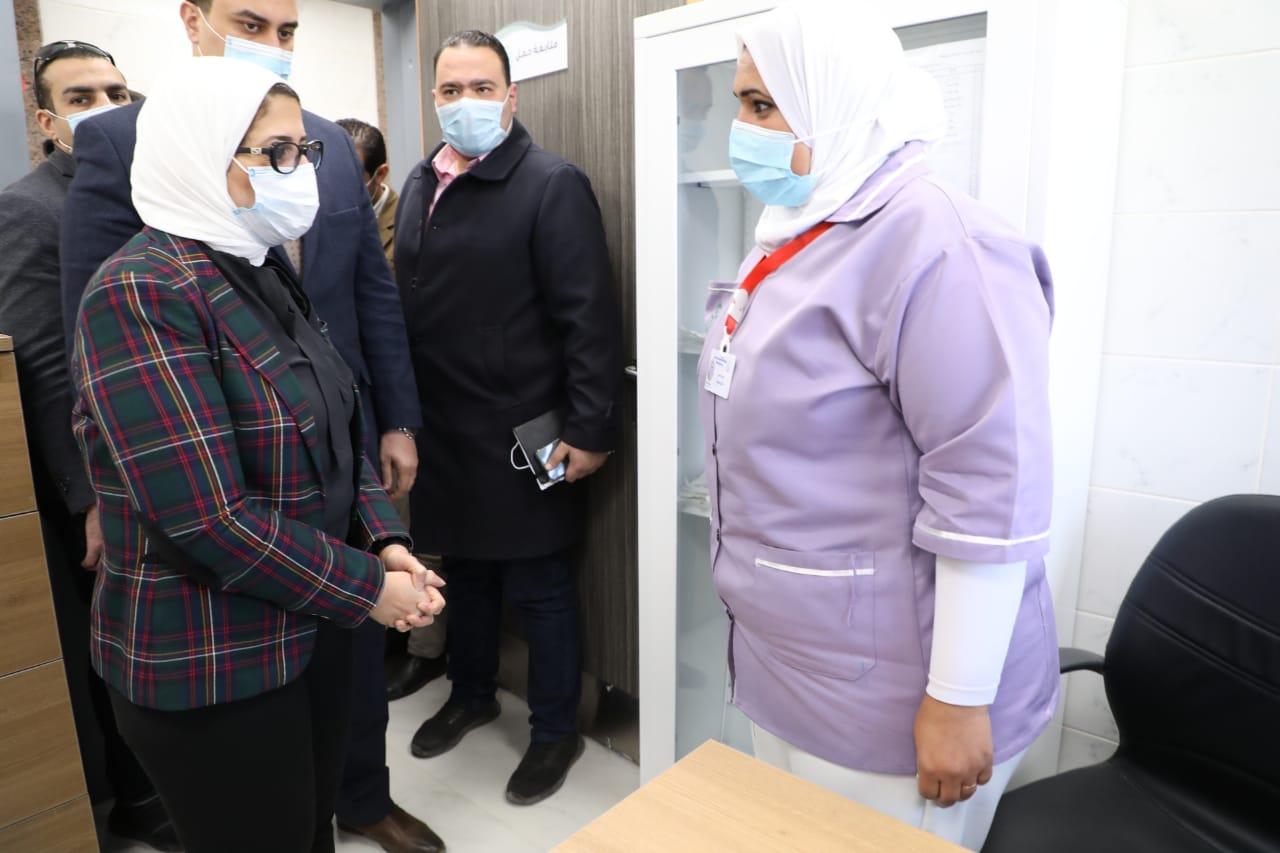 وزيرة الصحة: تسجيل 4 ملايين مواطن بمحافظات المرحلة الأولى لمنظومة التأمين الصحي الشامل الجديد