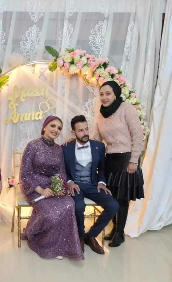 عائله عبد السلام البدوي  تحتفل بعقد  قران نجلها