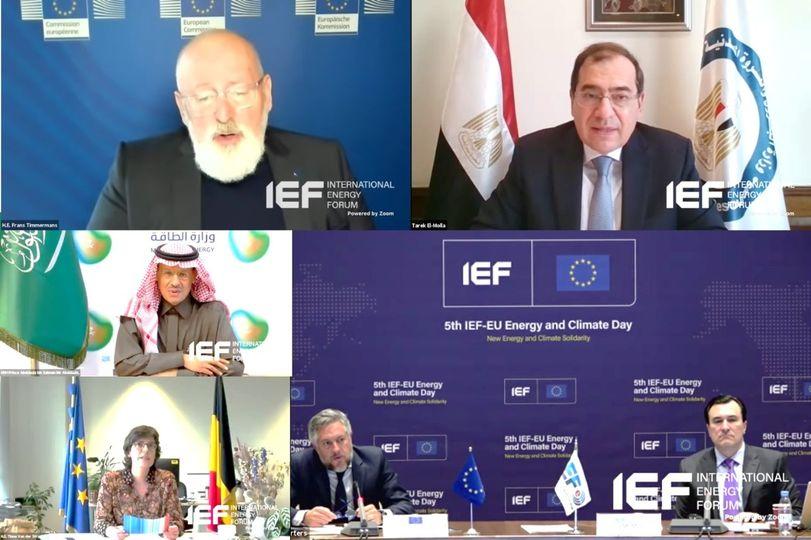 وزير البترول: تحقيق مستقبل آمن ومستدام للطاقة النظيفة فى مصر صار واقعاً