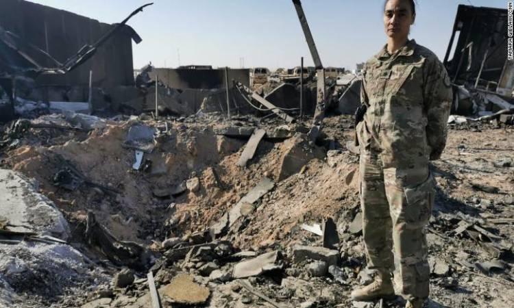 مقتل متعاقد امريكي إثر هجوم بالصواريخ على قاعدة عين الأسد
