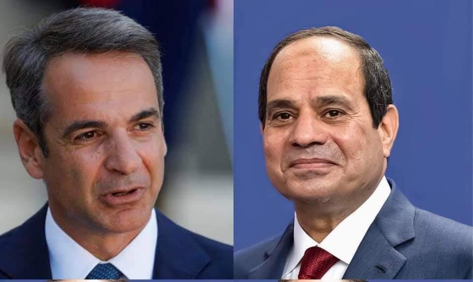 السيسي ورئيس الوزراء اليوناني يبحثان التعاون في مجال الطاقة وقضايا شرق المتوسط