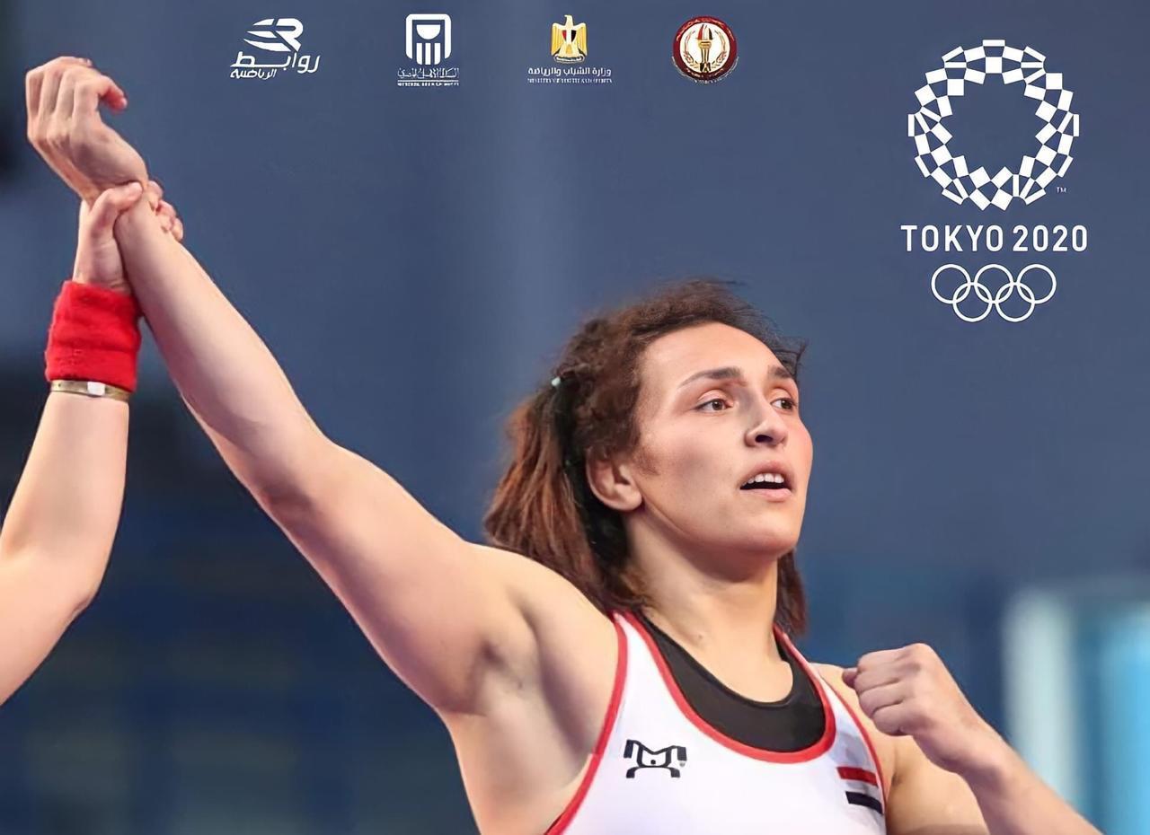 وزير الرياضة يهنىء سمر حمزة بعد التأهل إلى أولمبياد طوكيو