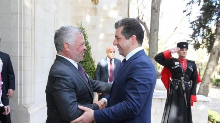 مسرور بارزاني: ندعم قرارات ملك الأردن لحفظ الأمن
