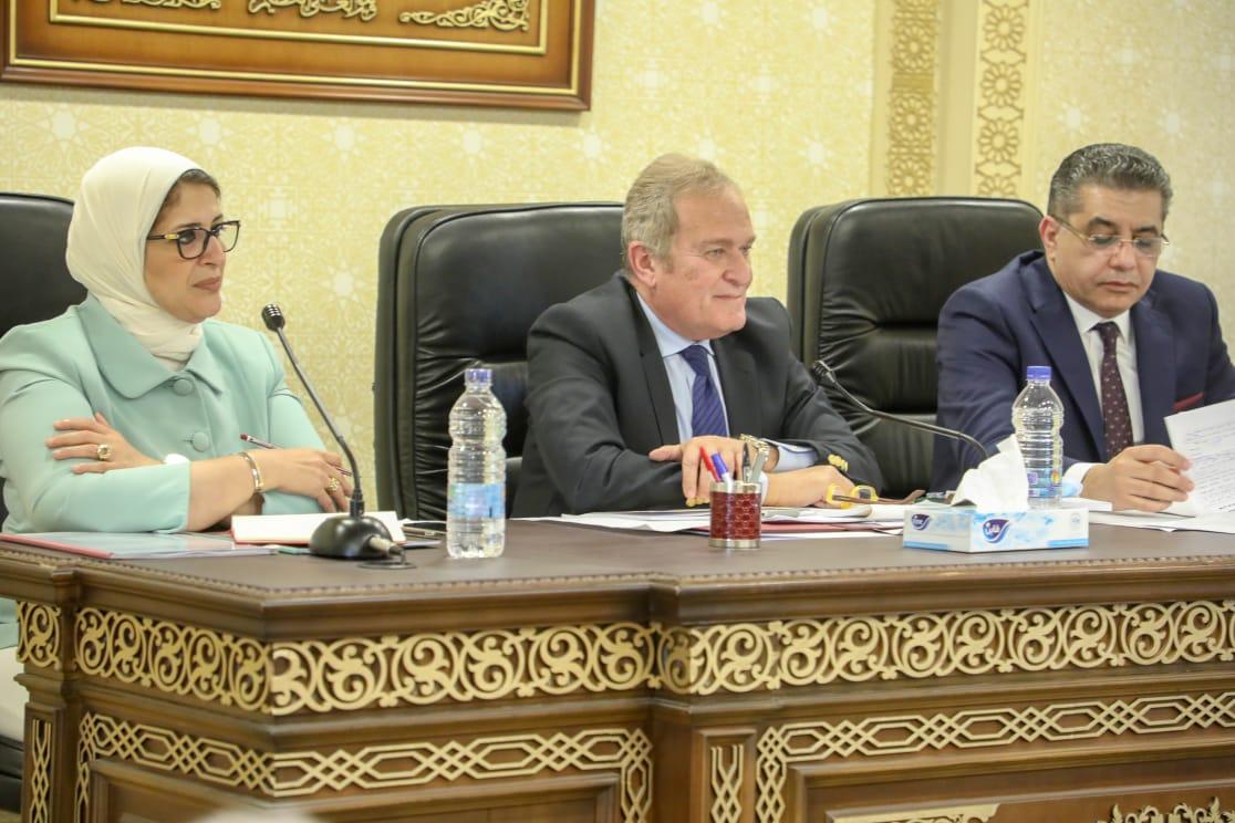 وزيرة الصحة تؤكد دعمها الكامل لمشروع القانون لتفعيل الدور التنفيذي للمجلس القومي للسكان للحد من الزيادة السكانية