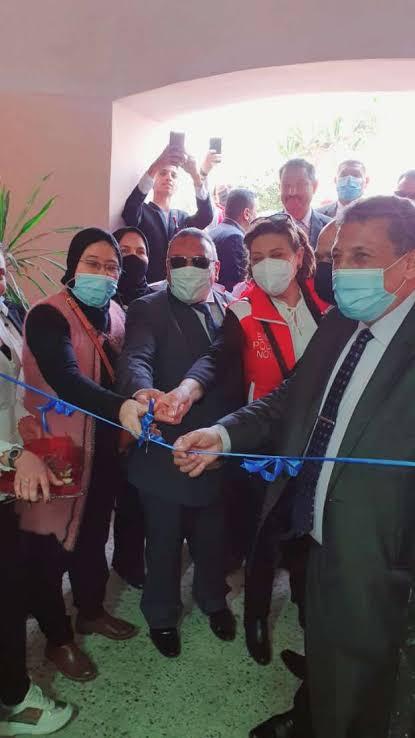 افتتاح مركز الموهوبين والتعليم الذكي الرئيسي بمحافظة البحيرة