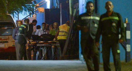 """العثور علي """" ساق آدمية"""" لأحد شوارع بمدينه السلام."""