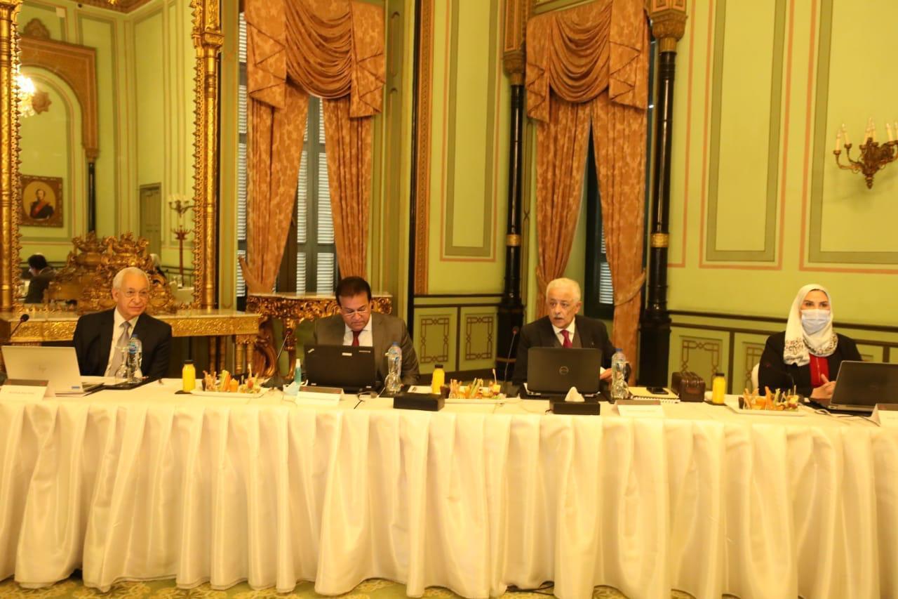 وزيرة التضامن الاجتماعي تشارك في الاجتماع السادس للجنة التوجيهية للشراكة المصرية اليابانية للتعليم