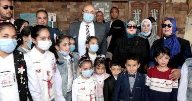 الإحتفال بيوم اليتيم بمحافظة بنى سويف