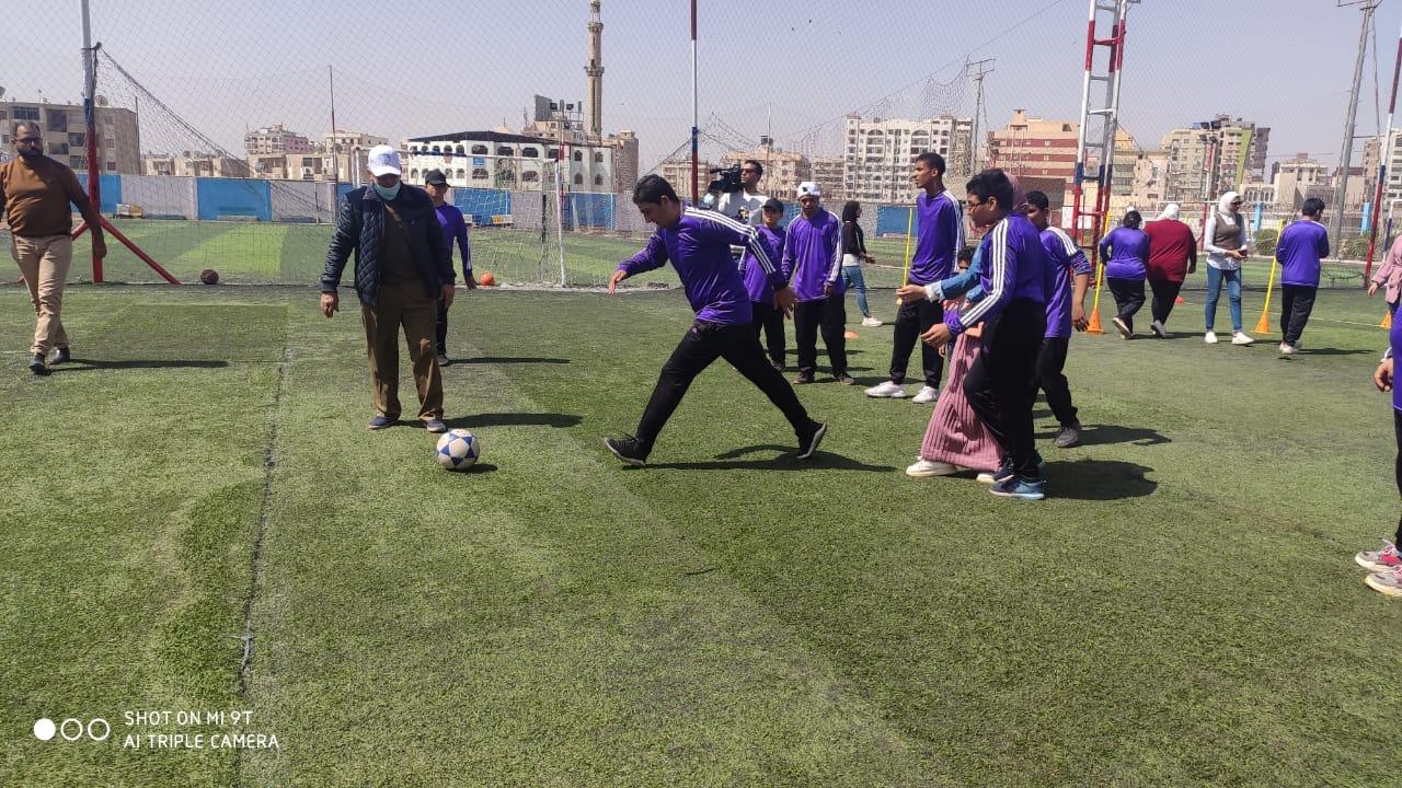الشباب والرياضة تحتفل باليوم العالمى للتوعية بمرض التوحد بمشاركة أكثر من 2000 طفل