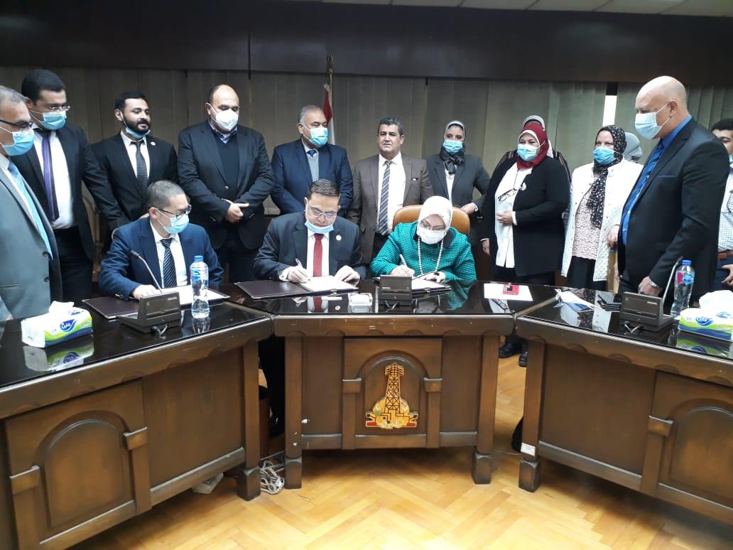 121 مليون جنيه مصرى لإنشاء محطة محولات المنصورية لتأمين التغذية الكهربائية لأعمال التطوير الضخمة بمنطقة (المتحف المصرى الكبير)