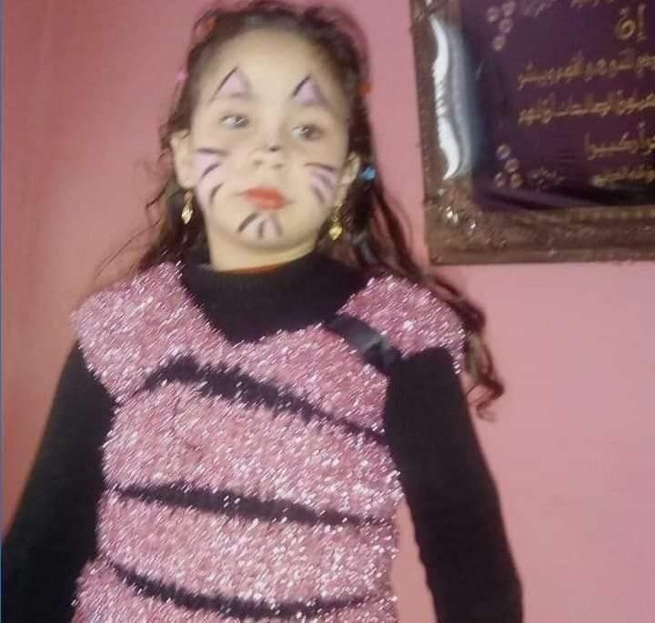 العثور ع طفله ذبحها احد الاشخاص: