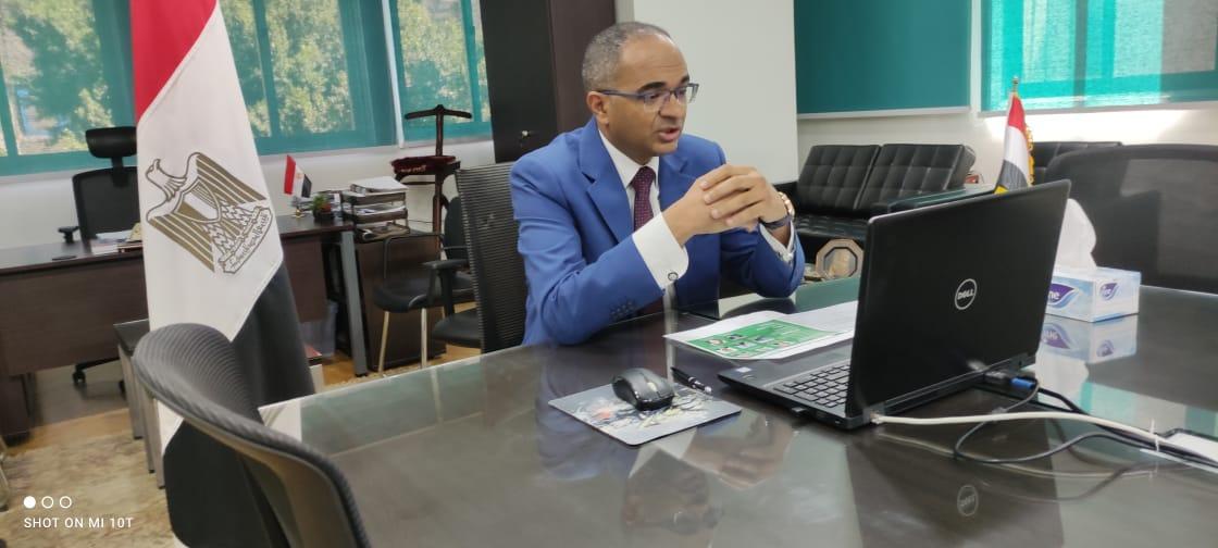 """نائب وزير الإسكان يشارك فى ندوة """"التحول الأخضر في مصر"""