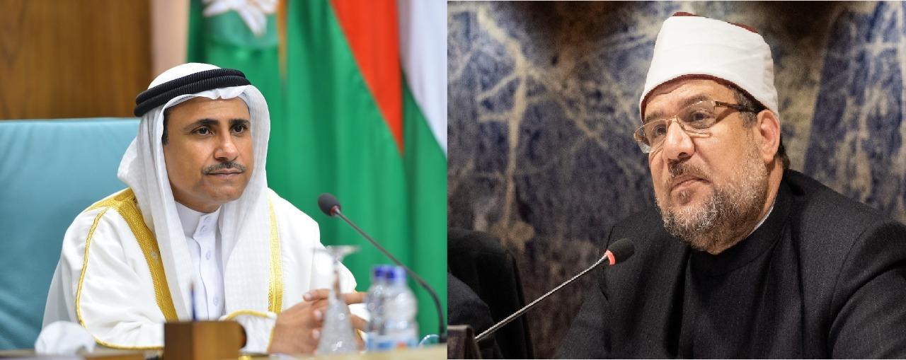 رئيس البرلمان العربي: مبادرات جديدة للتصدي للإرهاب والفكر المتطرف بالتعاون مع الاتحاد البرلماني الدولي والمجلس الأعلى للشئون الإسلامية