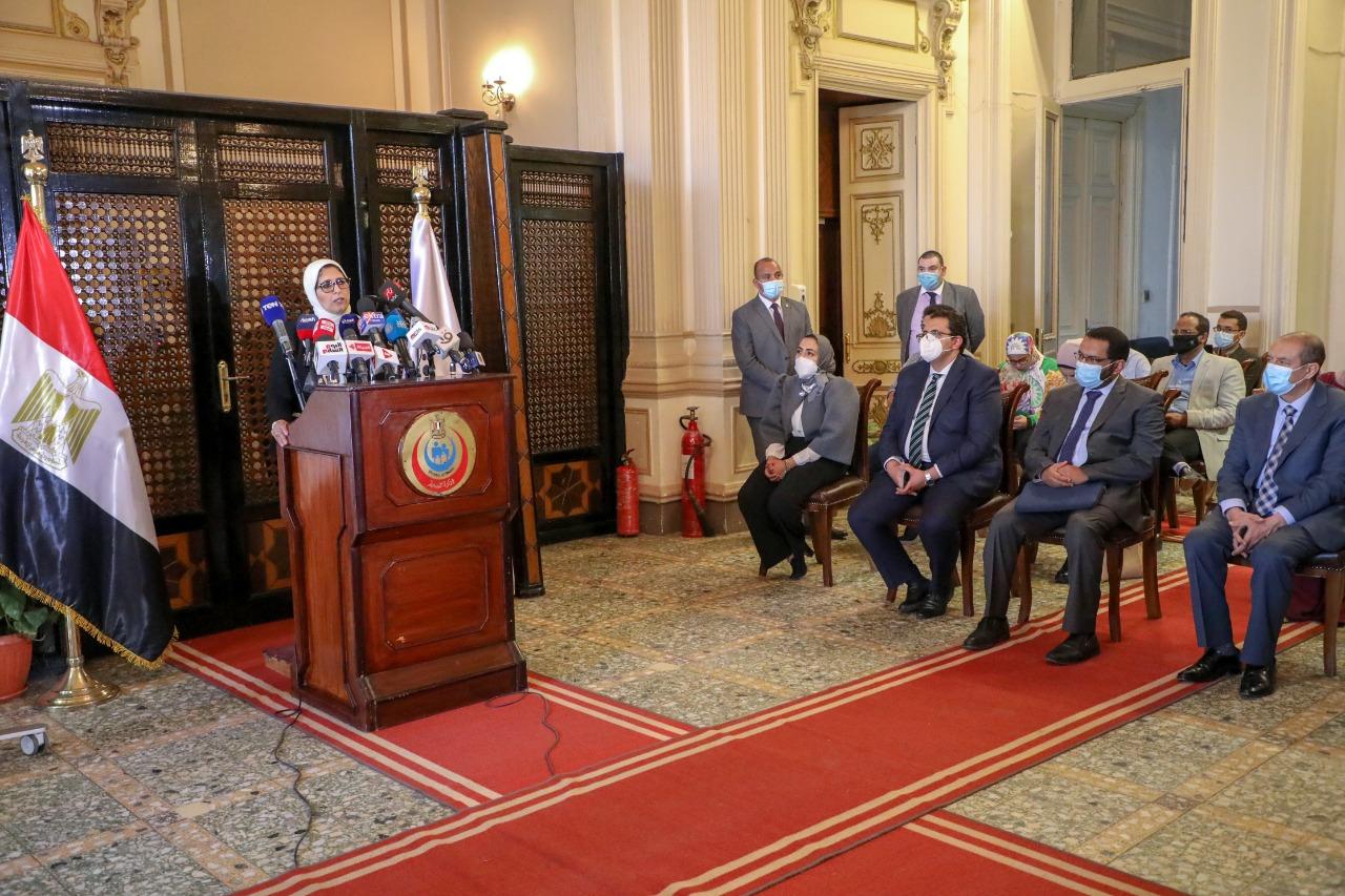 وزيرة الصحة: ارتفاع ملحوظ في أعداد إصابات فيروس كورونا  آخر 6 أسابيع