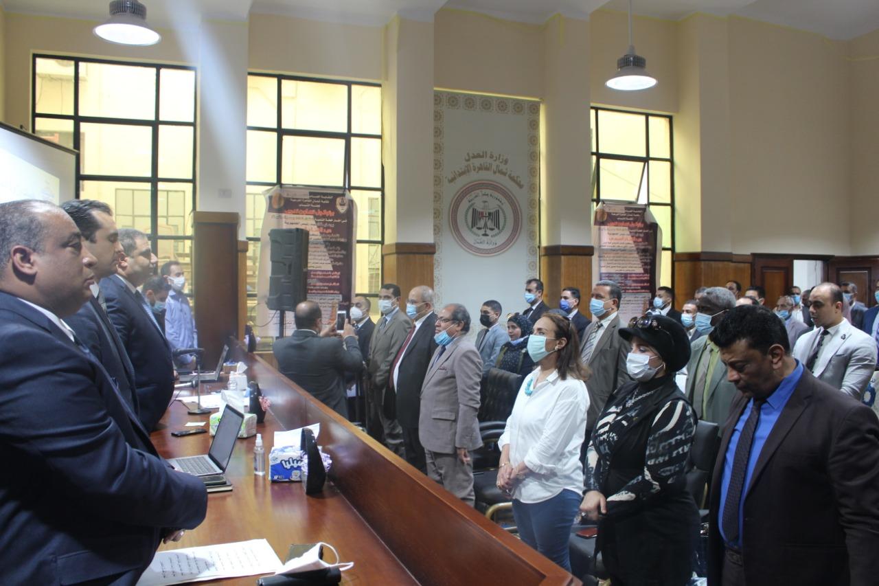 بحضور مساعد وزير العدل : محامين شمال القاهرة تطلق الدورة التدريبية الأولي