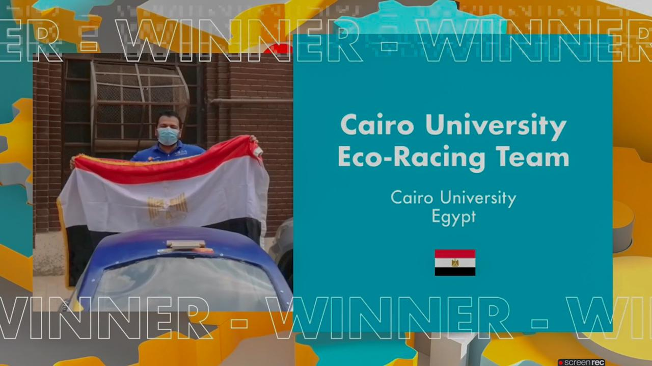 """فوز """"هندسة القاهرة"""" بالمركزين الأول والثاني في مسابقة شيل العالمية بمشاركة 89 جامعة عربية وأورببة وأفريقية"""