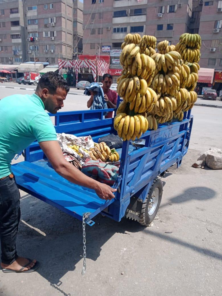 حي البساتين يتصدى للاشغالات بشارع الجزائر
