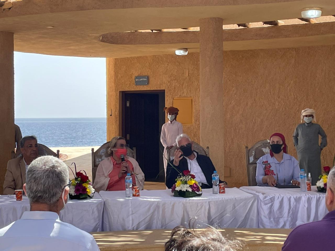 وزيرة البيئة تطلق خطة الإدارة البيئية للأنشطة البحرية من محمية رأس محمد بشرم الشيخ