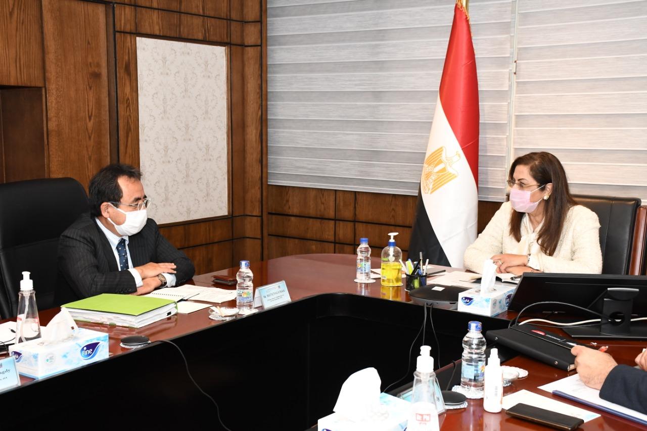 وزيرة التخطيط والتنمية الاقتصادية تستقبل المدير العام للوكالة اليابانية للتعاون الدولي JICA لمنطقة أوروبا والشرق الأوسط لبحث أوجه التعاون المستقبلية