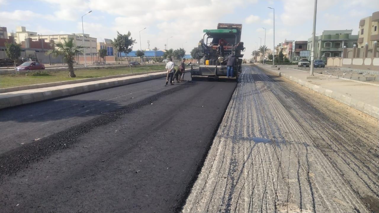 رئيس الجهاز: رفع كفاءة محور مصر النور بطول 6.5 كم بمدينة العاشر من رمضان