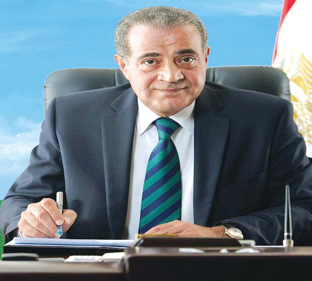 وزير التموين: نسب صرف السلع التموينية لشهر أبريل وصل الي 66%