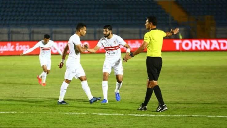 الزمالك يفوز على الحدود في كأس مصر