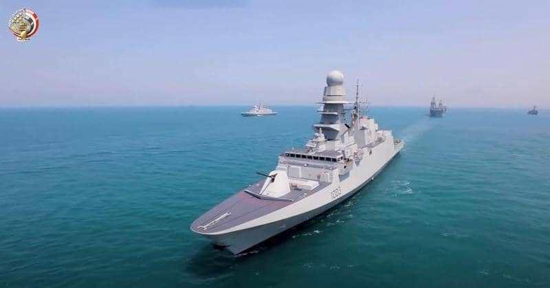 الفرقاطة برنيس تضم إلى البحرية المصرية