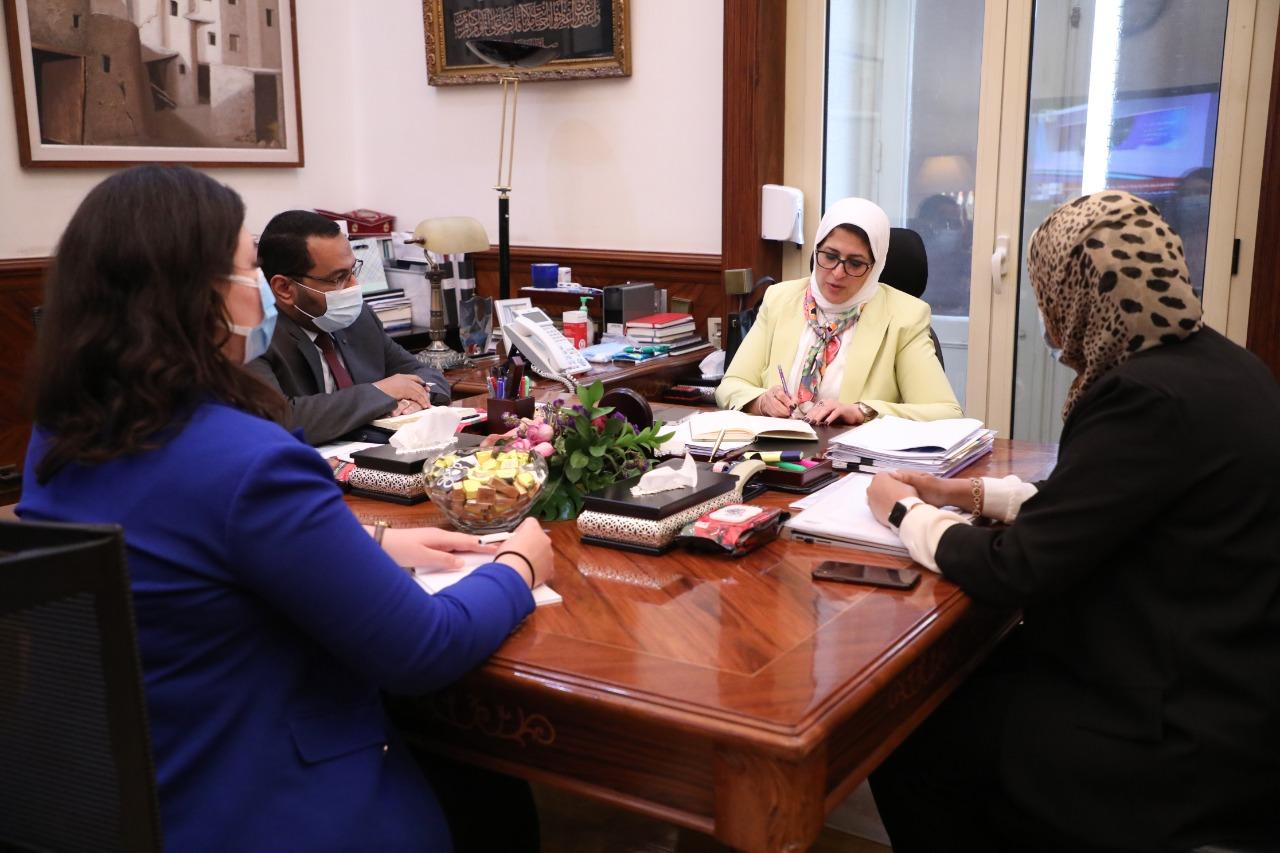 وزيرة الصحة: تأسيس معهد قومي للتعليم الطبي المهني وبحوث الصحة العامة في مصر بالتعاون مع كلية طب هارفارد الأمريكية