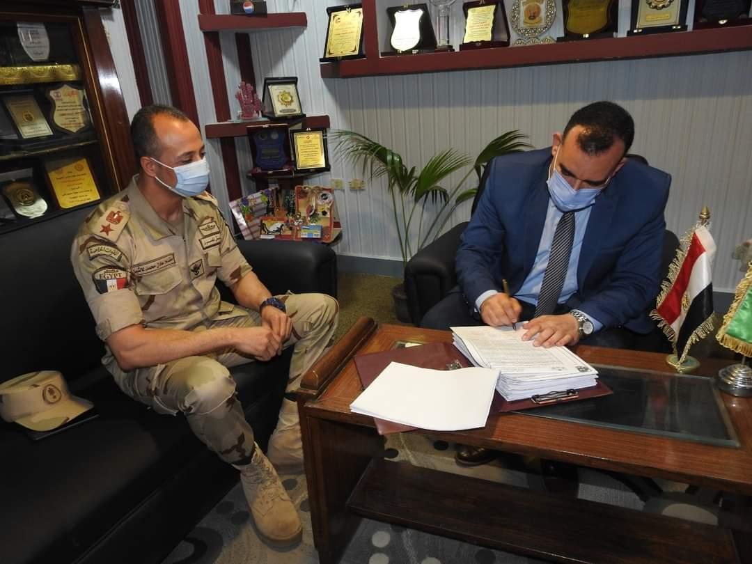 مدير تعليم المنوفية يعتمد نتيجة اختبارات التربية العسكرية بمدارس محافظة المنوفية