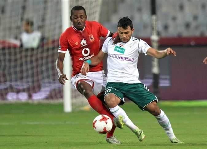 التعادل الإيجابي يحسم نتيجة الشوط الأول من مباراة الأهلي و المصري