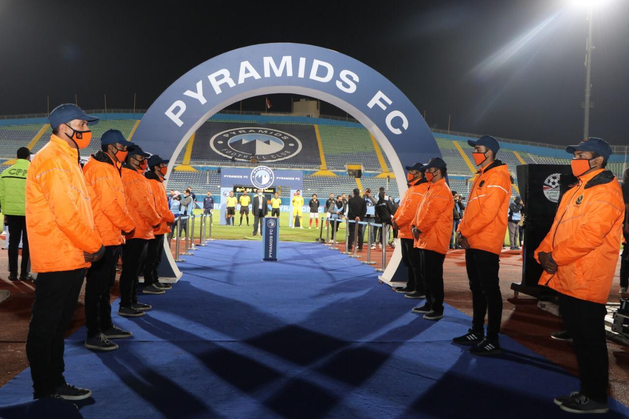 استعدادات أمنية مكثفة لتأمين مباراة بيراميدز و ونامونجو التنزانى