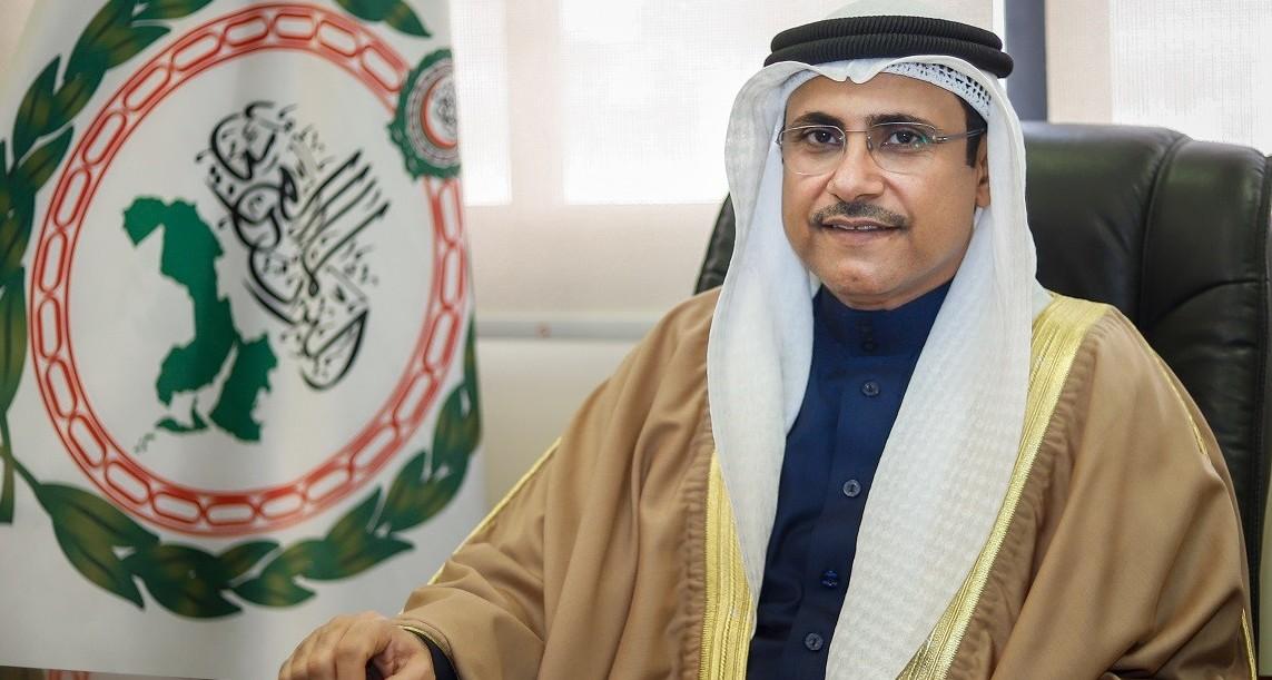 رئيس البرلمان العربي يشيد بمضامين اللقاء التلفزيوني لولي العهد السعودي