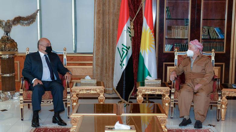 قادة كردستان و برهم صالح يناقشون الوضع العراقي والانتخابات المقبلة