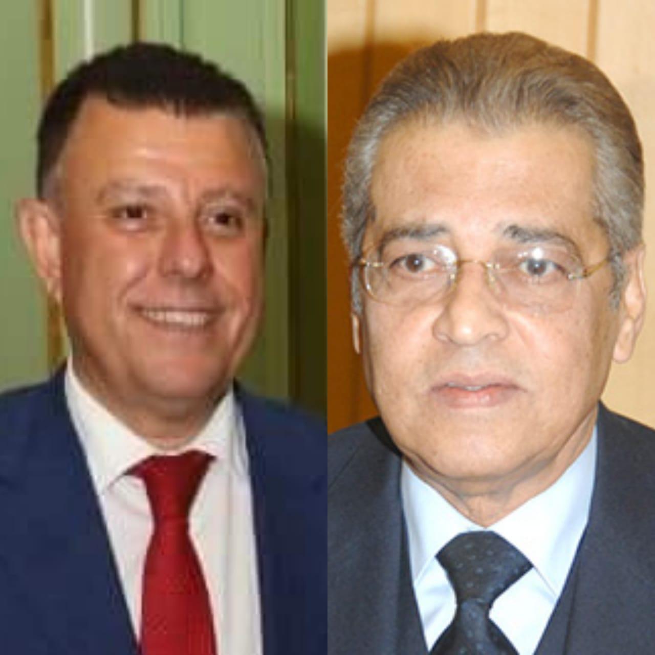 جامعة عين شمس تهنئ الدكتور صالح هاشم بعضوية مجلس إدارة الاتحاد الدولي للاقتصاديين والاداريين  في دول الاتحاد الأوروبي