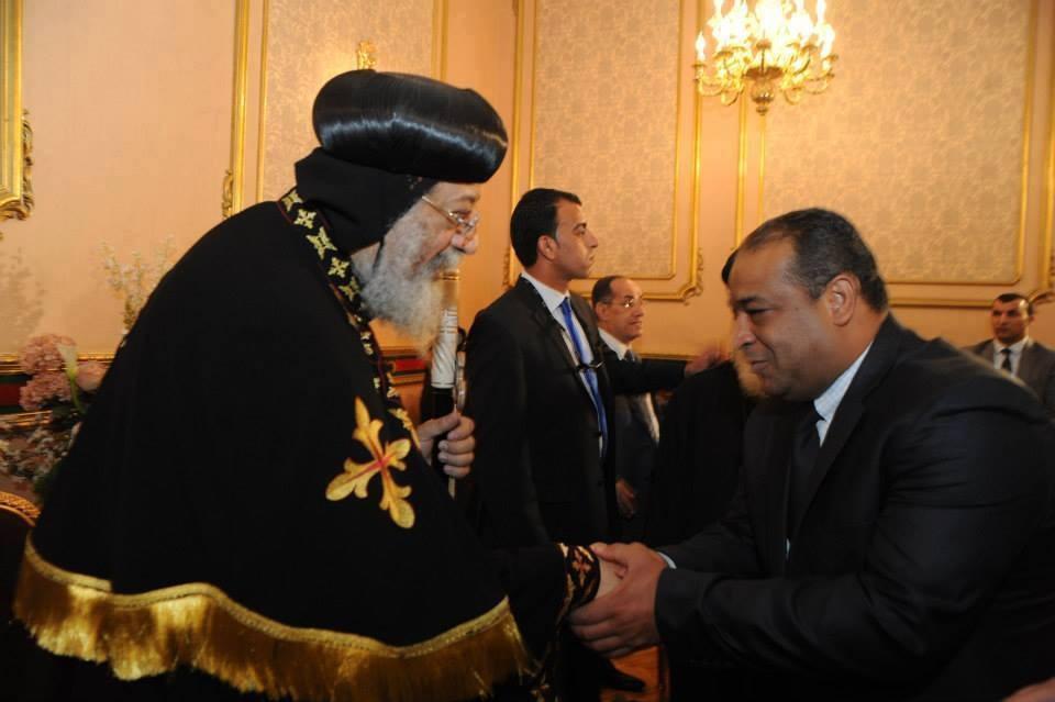 نقيب محامي شمال القاهرة يبعث برقية تهنئة للبابا تواضروس الثاني بمناسبة عيد القيامة