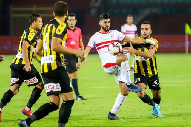 التعادل الإيجابي يحسم نتيجة مباراة الزمالك و المقاولون العرب
