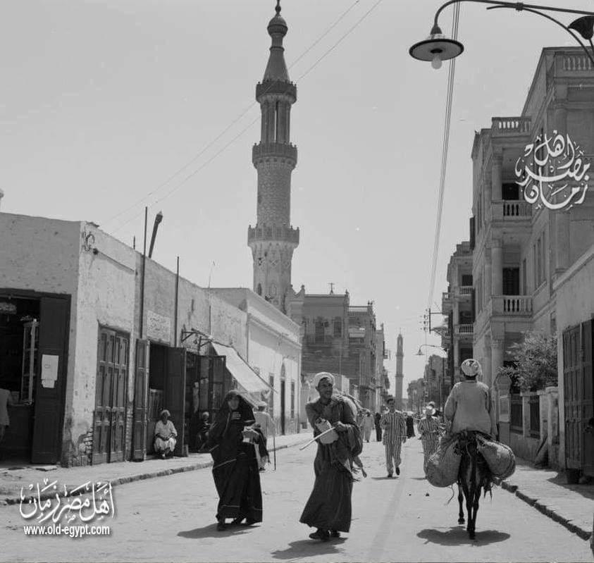 شارع المنشية بالأقصر من 60 عام