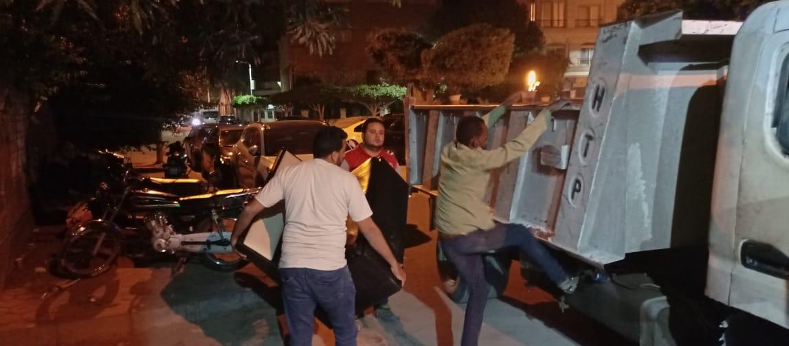 مصادرة 80 شيشة فى كافيهات الدقى خلال حملة لمتابعه الإجراءات الاحترازية للحد من كورونا