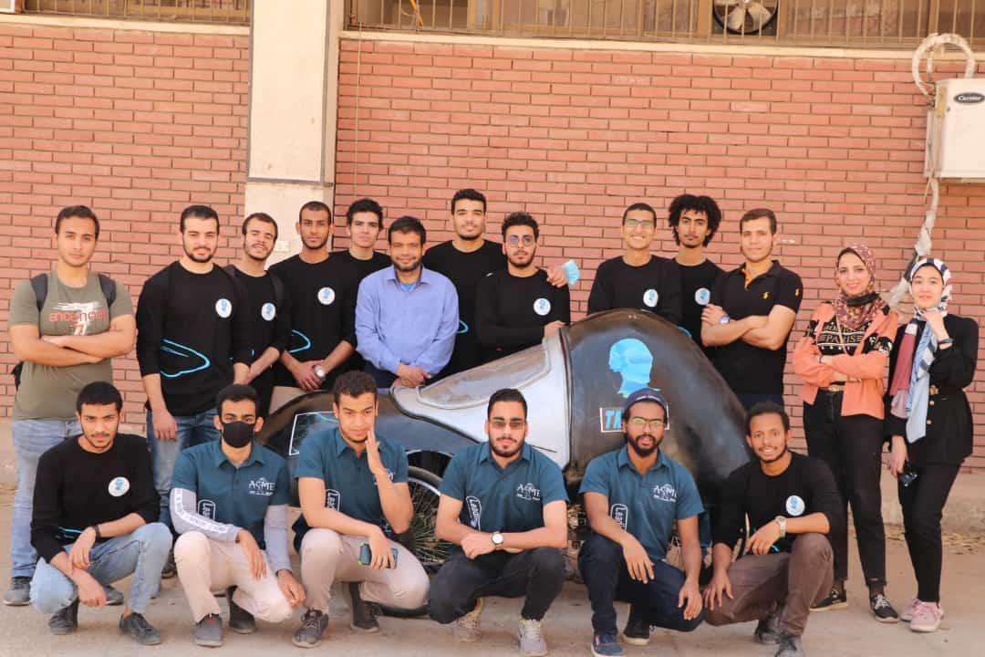جامعة أسيوط تُعلن عن فوز  فريق طلابي من أبنائها بالمركز الأول محلياً على مستوى الجامعات المصرية