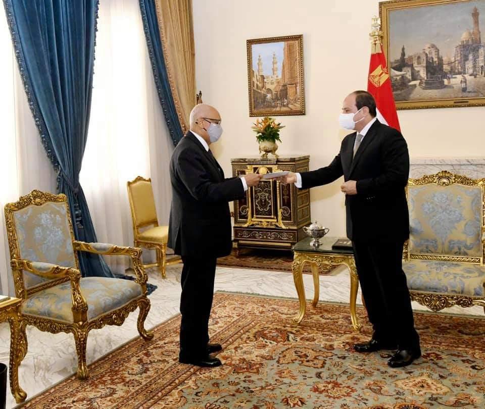 الرئيس السيسى يُستقبل وزير خارجية مالى فى حضور شكرى