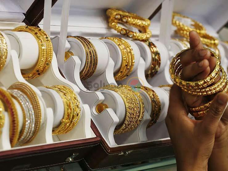 ارتفاع فى اسعار الذهب باسواق الصاغه