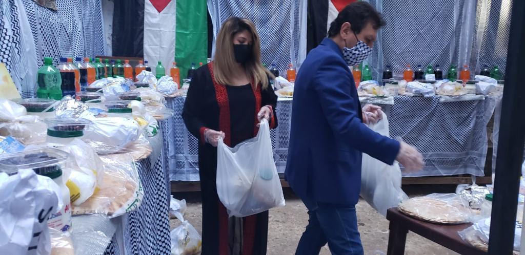 افطار فلسطينى بطعم الصمود فى القدس