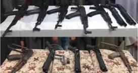 ضبط 182 قطعة سلاح و205 قضايا مخدرات خلال 24 ساعة.