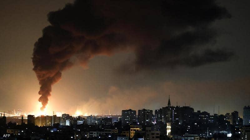 غارات إسرائيلية تدمر مبنى من عدة طوابق في غزة و مجلس الامن يوصى بعدم التوسع دون ادانة للعنف