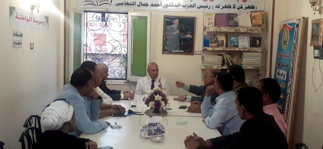الائتلاف الوطنى للأحزاب السياسية يشيد بالمشروع القومى لتأهيل وتبطين الترع فى مصر .